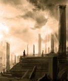 Ruiny starého chrámu