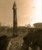 Nebeská věž a Osmisměrné náměstí